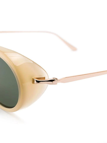 d7e5d9b34db8 ... SELF-PORTRAIT Ansley taupe and gold sunglasses Gold