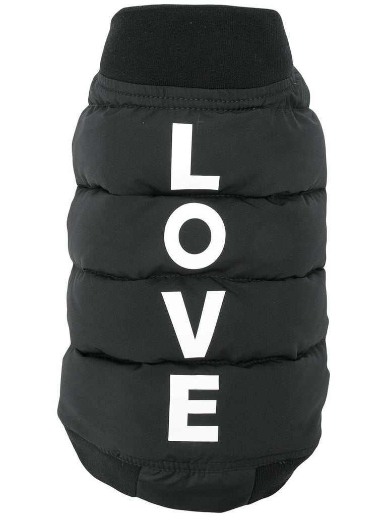 DUVETICA Love padded dog jacket