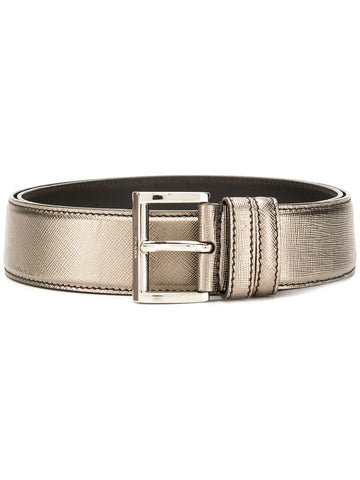 PRADA Metallic belt