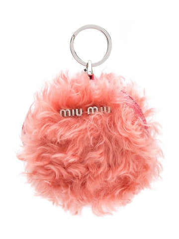 MIU MIU Zip-around bag charm