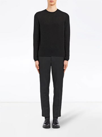 PRADA Cashmere crew neck sweater