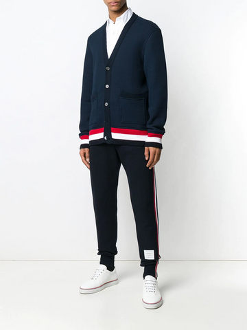 THOM BROWNE Oversized Chunky Loopback Cardigan