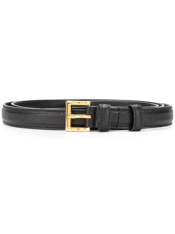 PRADA Square buckle belt
