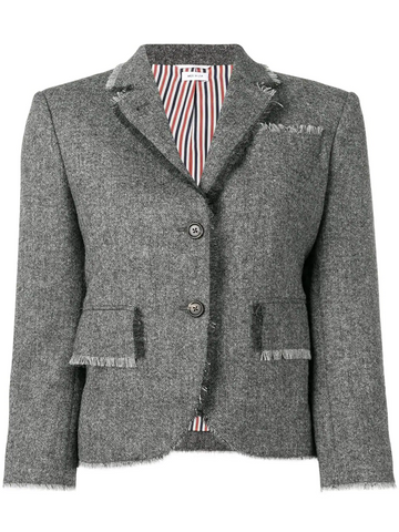 THOM BROWNE Donegal Fray Classic Sport Coat