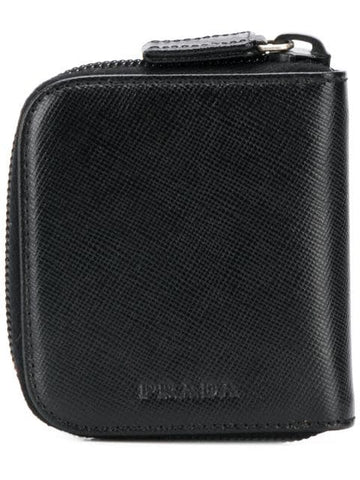 PRADA Half zipped wallet