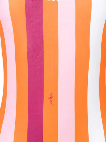MSGM Striped swimsuit