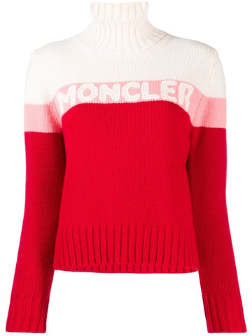 MONCLER roll neck sweater
