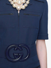 GUCCI twisted neck jumper