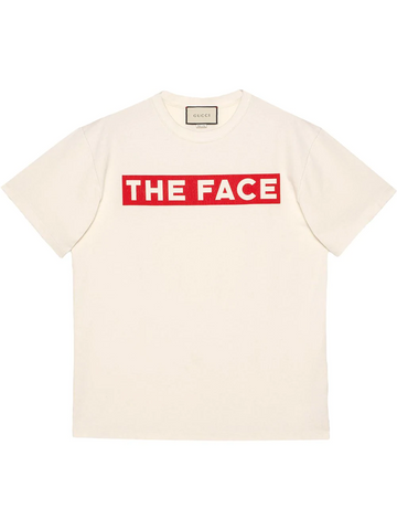"GUCCI Oversize T-shirt with ""The Face"""