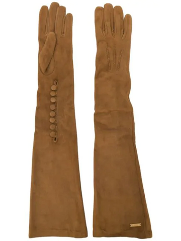 DSQUARED2 goat skin long gloves