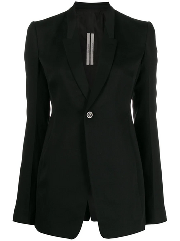 RICK OWENS classic single breasted blazer