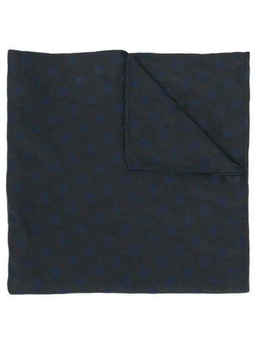 MIU MIU embroidered polka dot scarf
