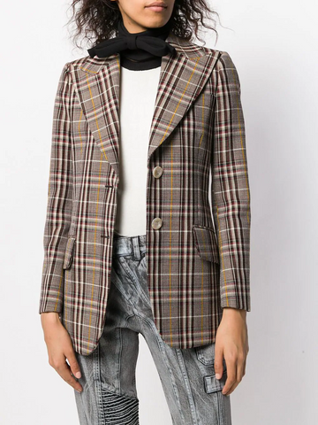 MIU MIU neck-tied collar scarf