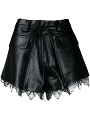 SELF PORTRAIT pleated shorts