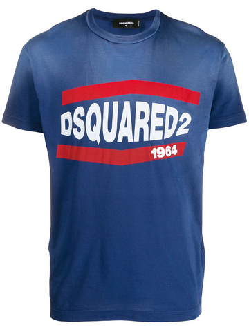 DSQUARED logo stamp T-shirt