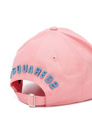 DSQUARED Icon embroidered baseball cap