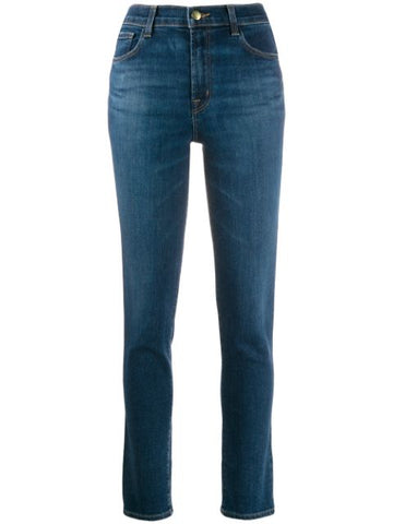 J BRAND arcade high rise crop cigarette denim