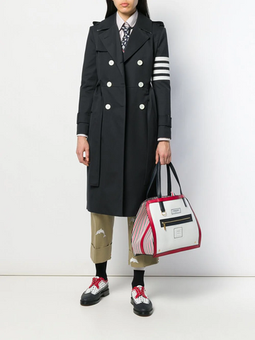 THOM BROWNE 4-bar classic trench