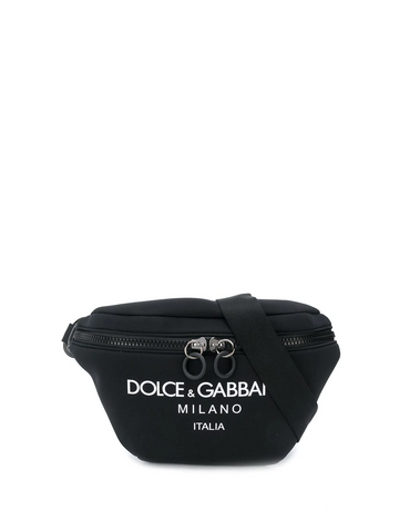 DOLCE&GABBANA logo belt bag