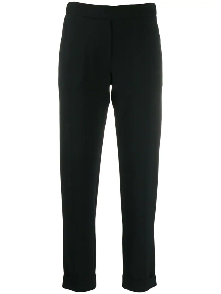 PAROSH slim-fit trousers
