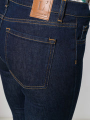 L'AUTRE CHOSE cropped slim-fit jeans