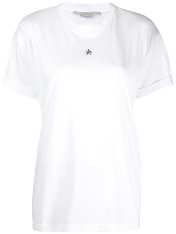 STELLA McCARTNEY crystal embellished T-shirt