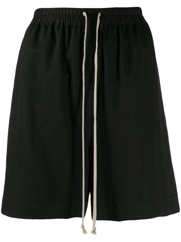 RICK OWENS loose-fit track shorts