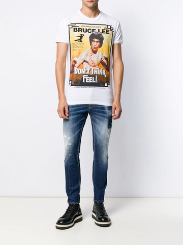 DSQUARED Bruce Lee T-shirt