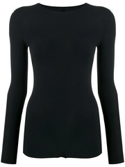MAISON MARGIELA long-sleeved jersey bodysuit