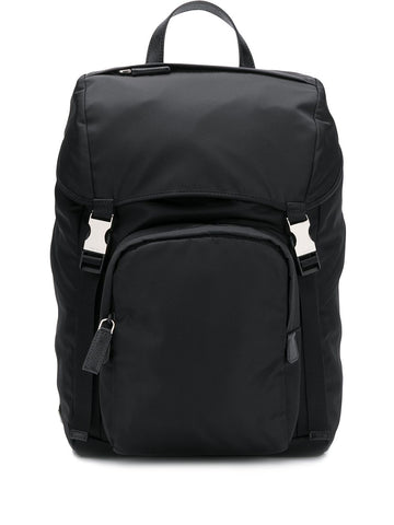 PRADA buckled backpack
