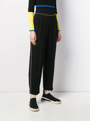 MSGM crystal embellished trousers