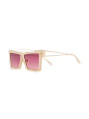 SELF PORTRAIT rectangular frame sunglasses