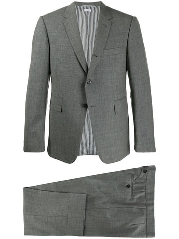 THOM BROWNE classic two-piece suit with tie