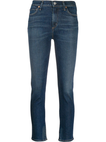 CITIZENS of HUMANITY frayed hem skinny jeans