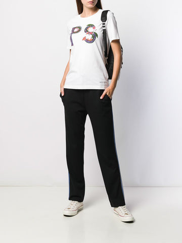 PAUL SMITH PRINTED T SHIRT WHITE