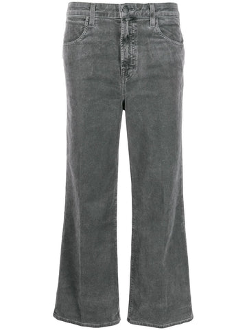 J BRAND high rise flared jeans
