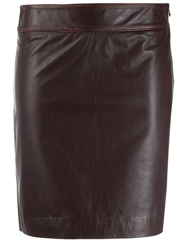 L'AUTRE CHOSE fitted short skirt