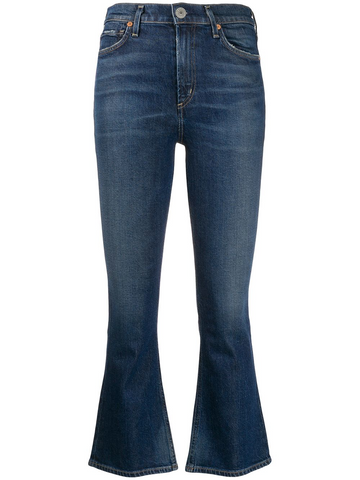 CITIZENS of HUMANITY high rise cropped jeans