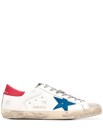 GOLDEN GOOSE printed plimsoll trainers