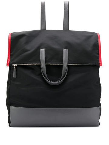 PRADA oversized panelled backpack