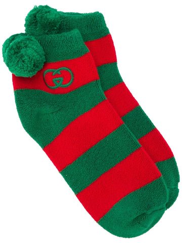 GUCCI GG logo striped socks
