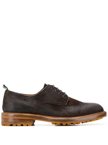 GREEN GEORGE lace up derby shoes