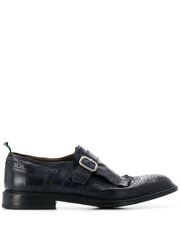 GREEN GEORGE brogue monk shoes