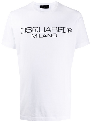 DSQUARED logo T-shirt
