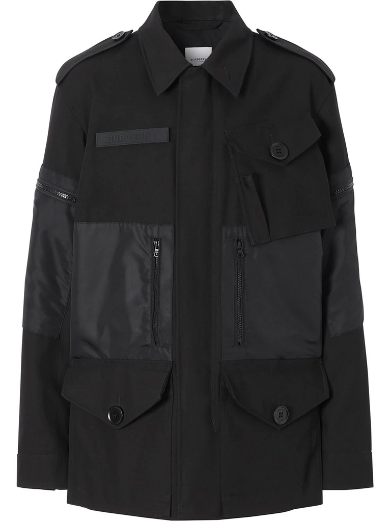 BURBERRY gabardine field jacket