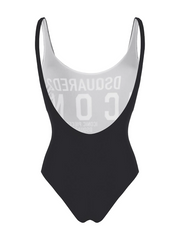 DSQUARED2 logo print one-piece