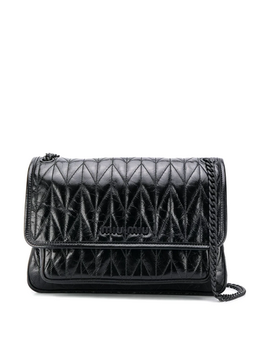 MIU MIU medium quilted shoulder bag