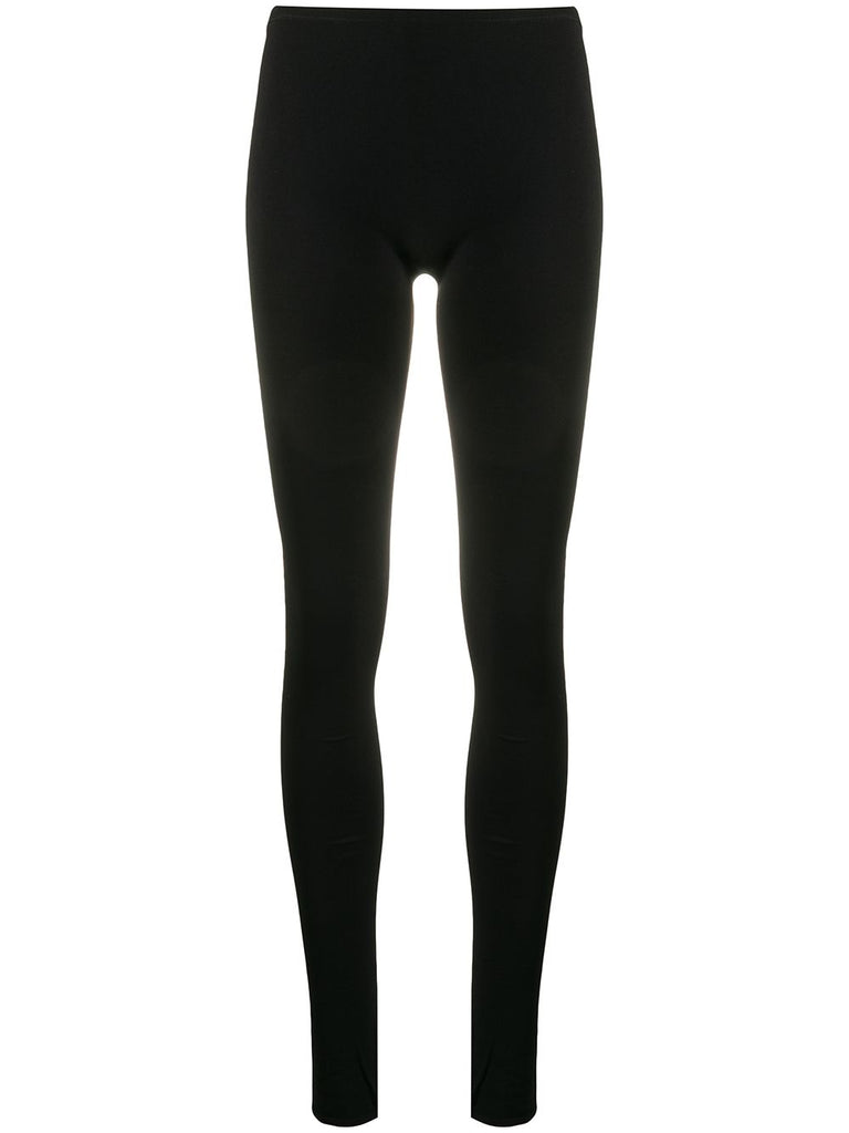 VALENTINO mid-rise stretch fit leggings