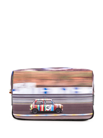 PAUL SMITH Mini print wash bag