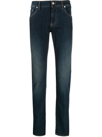 DOLCE&GABBANA distressed detail jeans